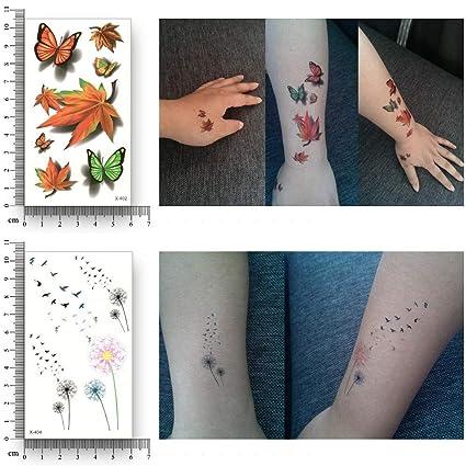 Yangll Tatuaje Temporal Falso Impermeable De Transferencia De Agua ...