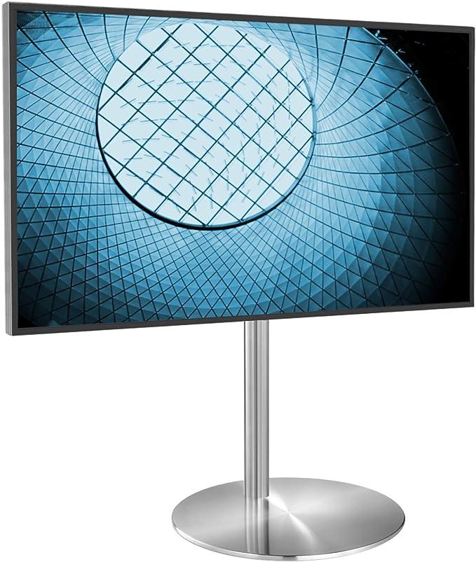 Cavus FM100/60S - Soporte para televisores de diseño, diámetro de 53 cm, Acero Inoxidable, 100 cm, Acero Inoxidable, VESA 400 x 400-32 - 55 Pulgadas: Amazon.es: Electrónica