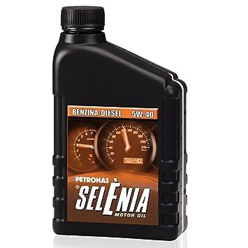 Selenia Petronas - Código 072714 - Aceite Selenia, para motores de gasolina y diésel,