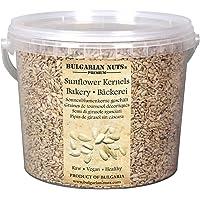3 kg (5 l) Pipa pelada de girasol sin cáscara, panadería calidad prima 99,9% pureza procesada en máquina láser…