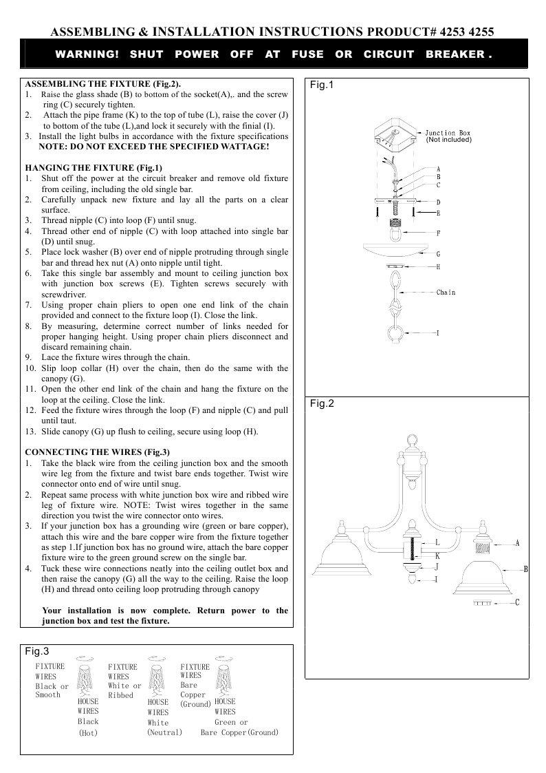 Livex Lighting 4255 04 North Port 5 Light Black Chandelier With Fixture Wiring 2 White Alabaster Glass