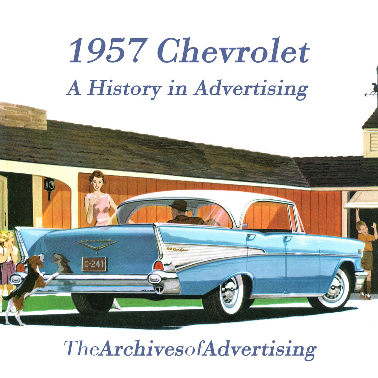 1957 Chevrolet Ad Cd Rom Over 100 Ads Bel Air Biscayne Sales Brochure Nomad 210 Entertainment Collectibles