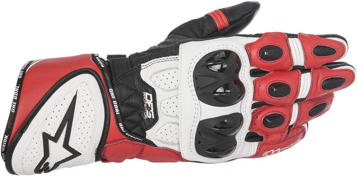 Alpinestars GP Plus R Gloves (XXX-LARGE) (BLACK/WHITE/RED) by Alpinestars (Image #1)