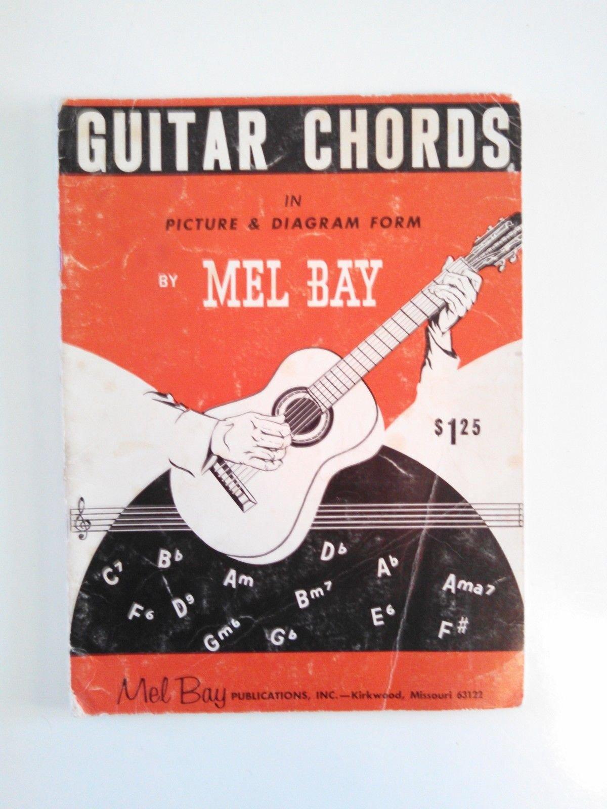 Mel Bay Guitar Chords In Photo Diagram Form Melbourne Earl Bay