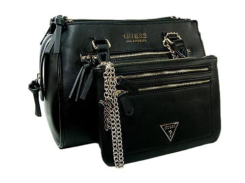 Amazon.com  New Guess Logo Purse Hand Bag Crossbody Satchel   Big ... cabb7a33d0e3c