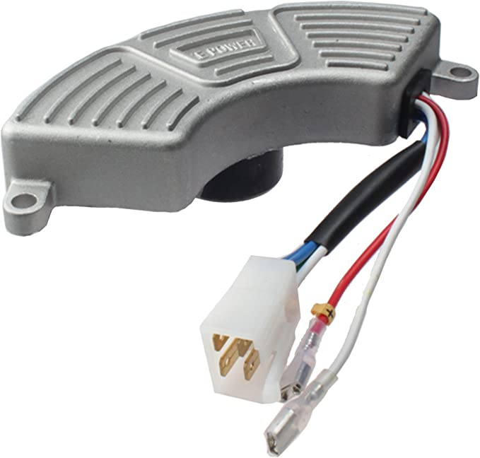 Round AVR /& Carbon Brush for Honda EX800 32350-ZA7-003 Generator Volt Regulator
