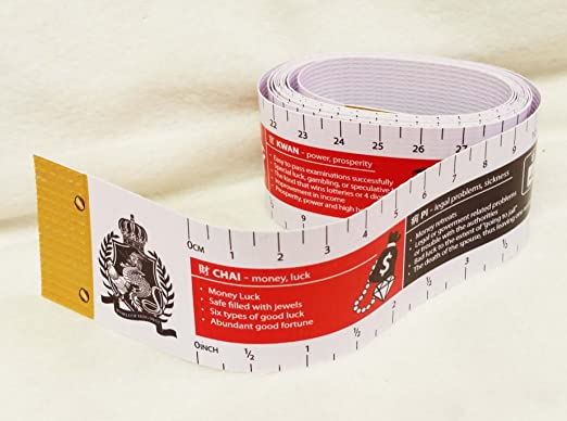 Amazon com : Lillian Too's Feng Shui Measurement Tape : Everything Else