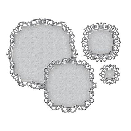 amazon com spellbinders s4 427 nestabilities decorative labels