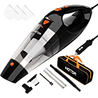 Car Vacuum Cleaner High Power, HOTOR Vacuum Cleaner for Car, DC 12V Portable Handheld Auto Vacuum for Car Use Only, The…