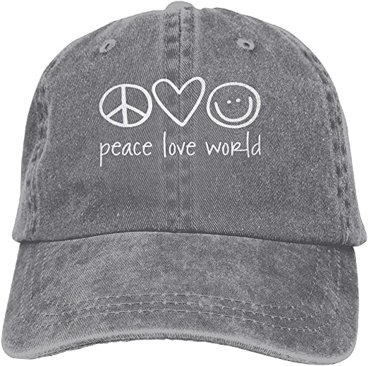 Peace Baseball Hat
