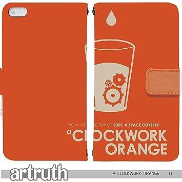 aff2a245f8 Amazon | A CLOCKWORK ORANGE 手帳型 iPhone7 (iPhone 7)(G008203_01 ...