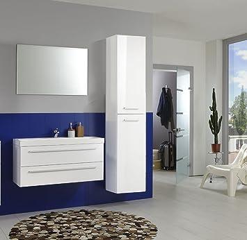 XXS® Möbel Badmöbel Set Kwadro 3 teilig 100 cm kleines Bad in ...