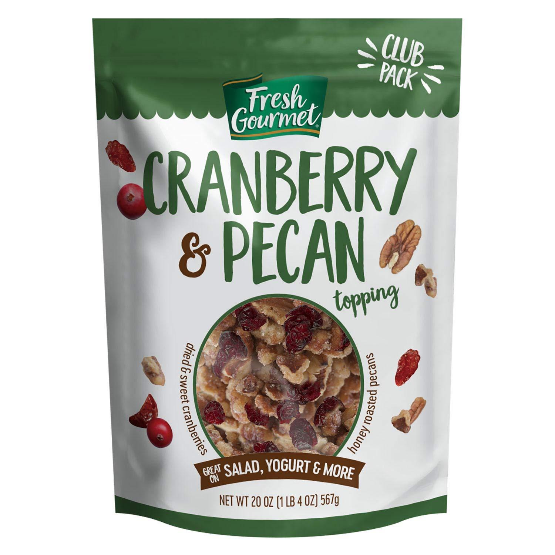 Fresh Gourmet Dried Cranberry & Pecan Topping (Net Wt 20 Oz),