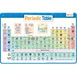 merka Kids Placemat Makes Great Educational Poster Non Slip Periodic Table of Elements Chemistry