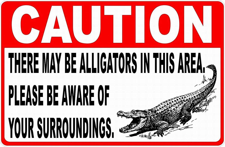 NOT Caution Crocodile Blechschilder Warnschild Metallposter Eisen Kunst Retro Zeichen Promi Malerei Geb/äude Garten Bauernhof Cafe Bar als Geschenk