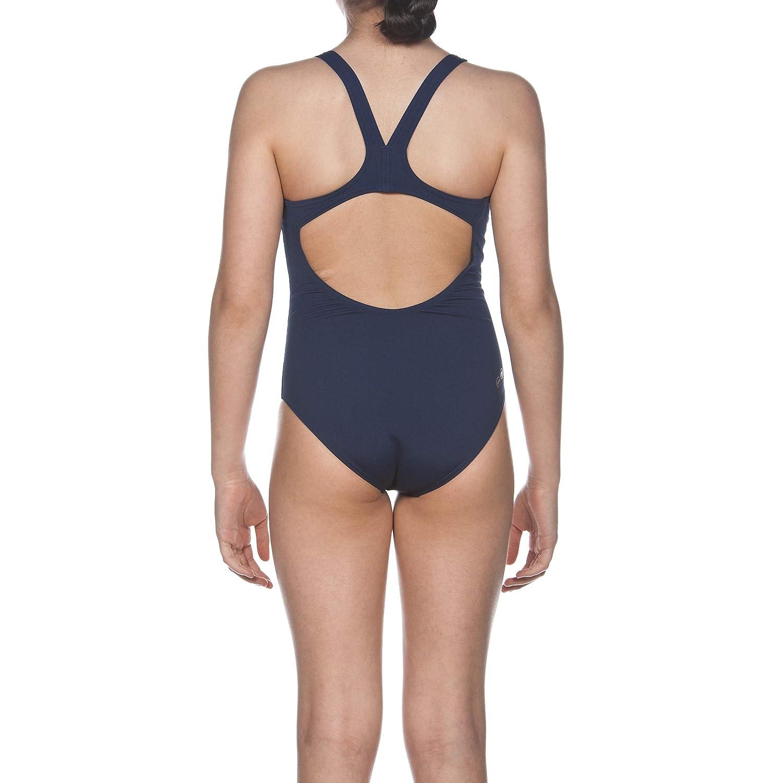 1324eca5 Arena Girls' Training Solid Swim Pro Swimsuit: Amazon.co.uk: Clothing