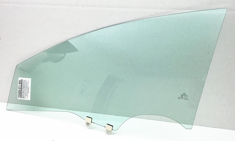 NAGD Fits 2006-2011 Honda Civic 4 Door Sedan /& Hybrid Driver Side Left Front Vent Glass Window