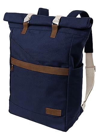 1f1ea10573b55 ansvar Rucksack aus Bio Baumwoll Canvas - Hochwertiger Damen   Herren  Vintage Tagesrucksack aus 100%