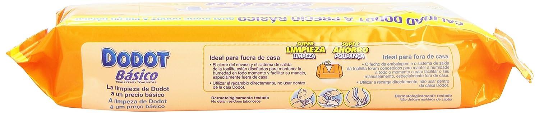 Dodot - Toallitas básico recambio (54 unidades): Amazon.es: Salud y cuidado personal