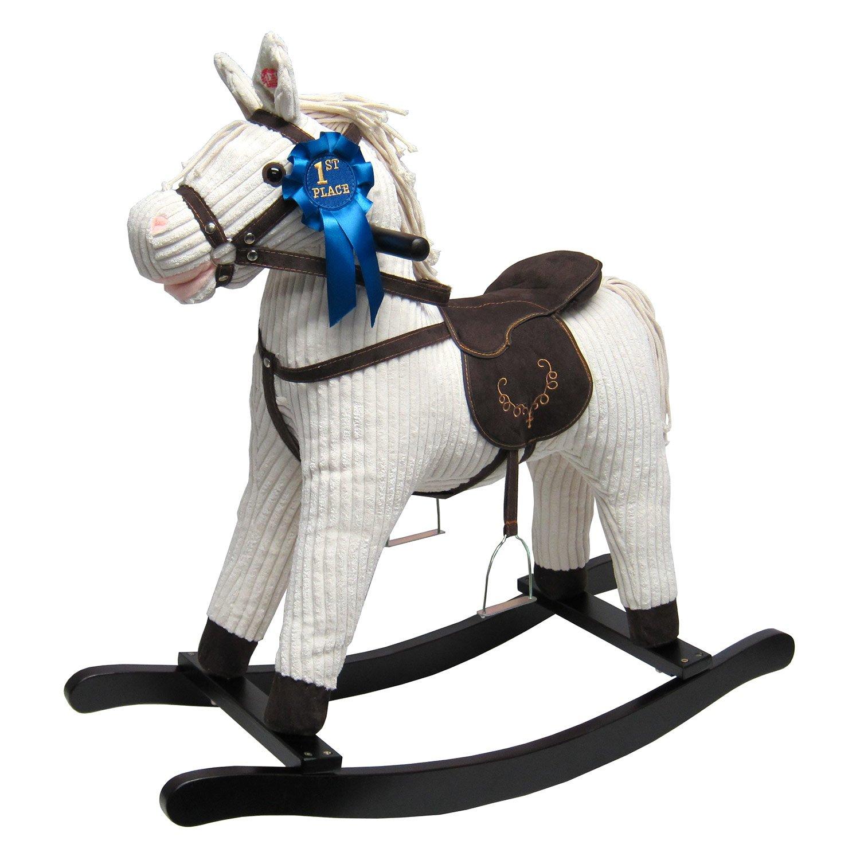 JOON Rocking Horse Corduroy Jones Pony, Beige