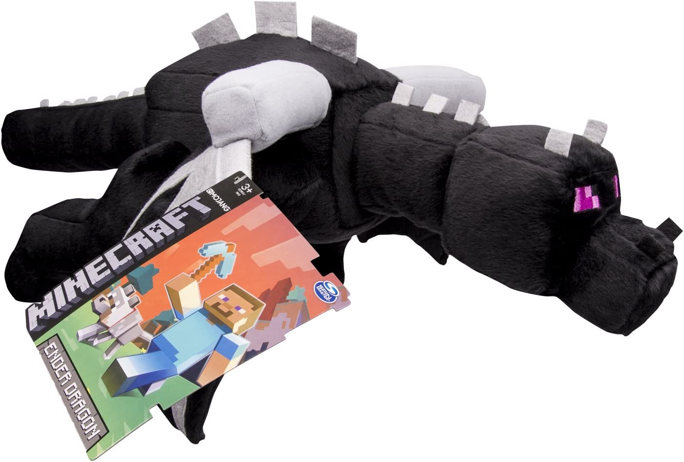 Minecraft 6022921 Super Deluxe Ender Dragon Peluche Amazon Es Juguetes Y Juegos