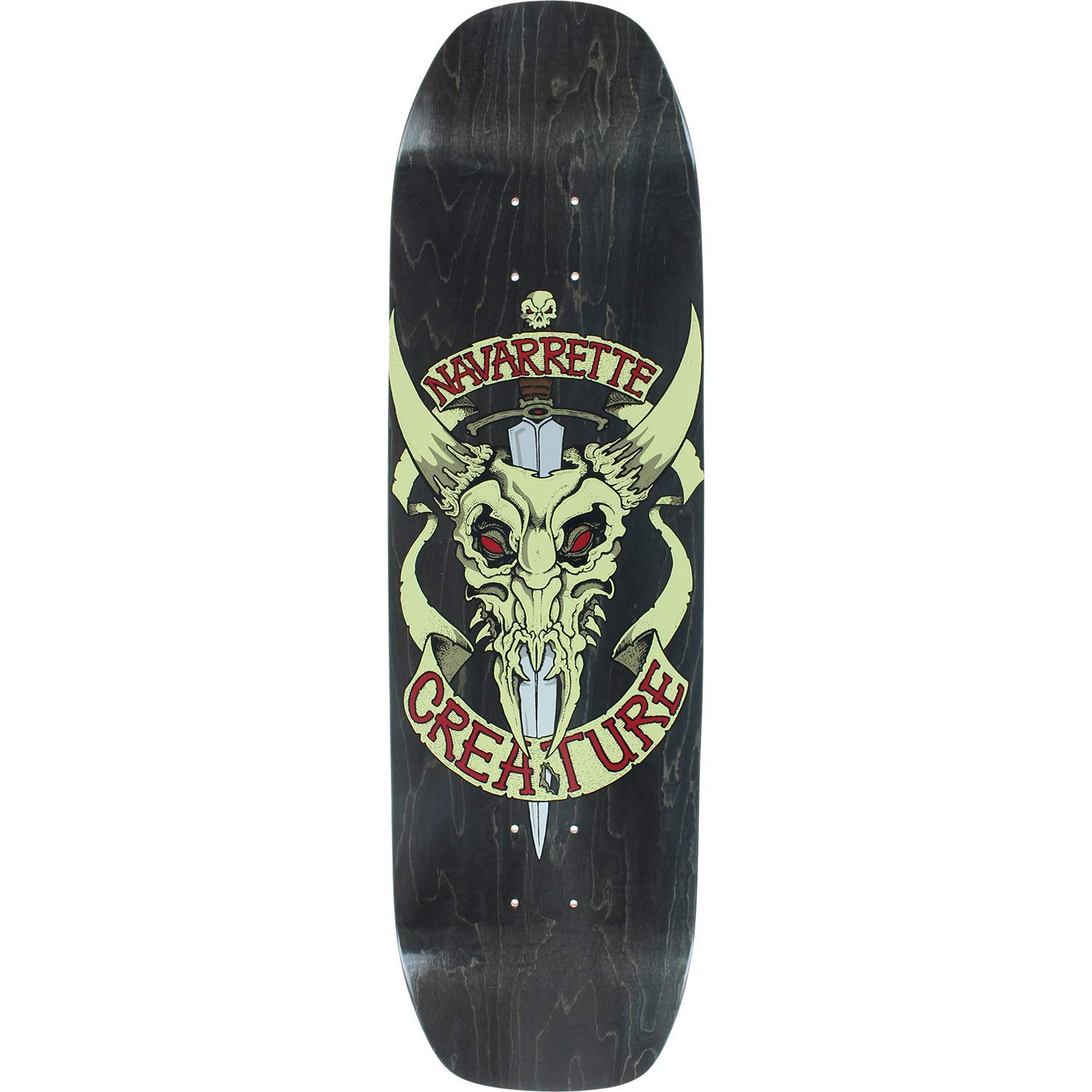 382f80c7 Amazon.com : Creature Navarrette Cowskull Skateboard Deck - 8.8 Deck -  Assembled AS Complete Skateboard : Sports & Outdoors