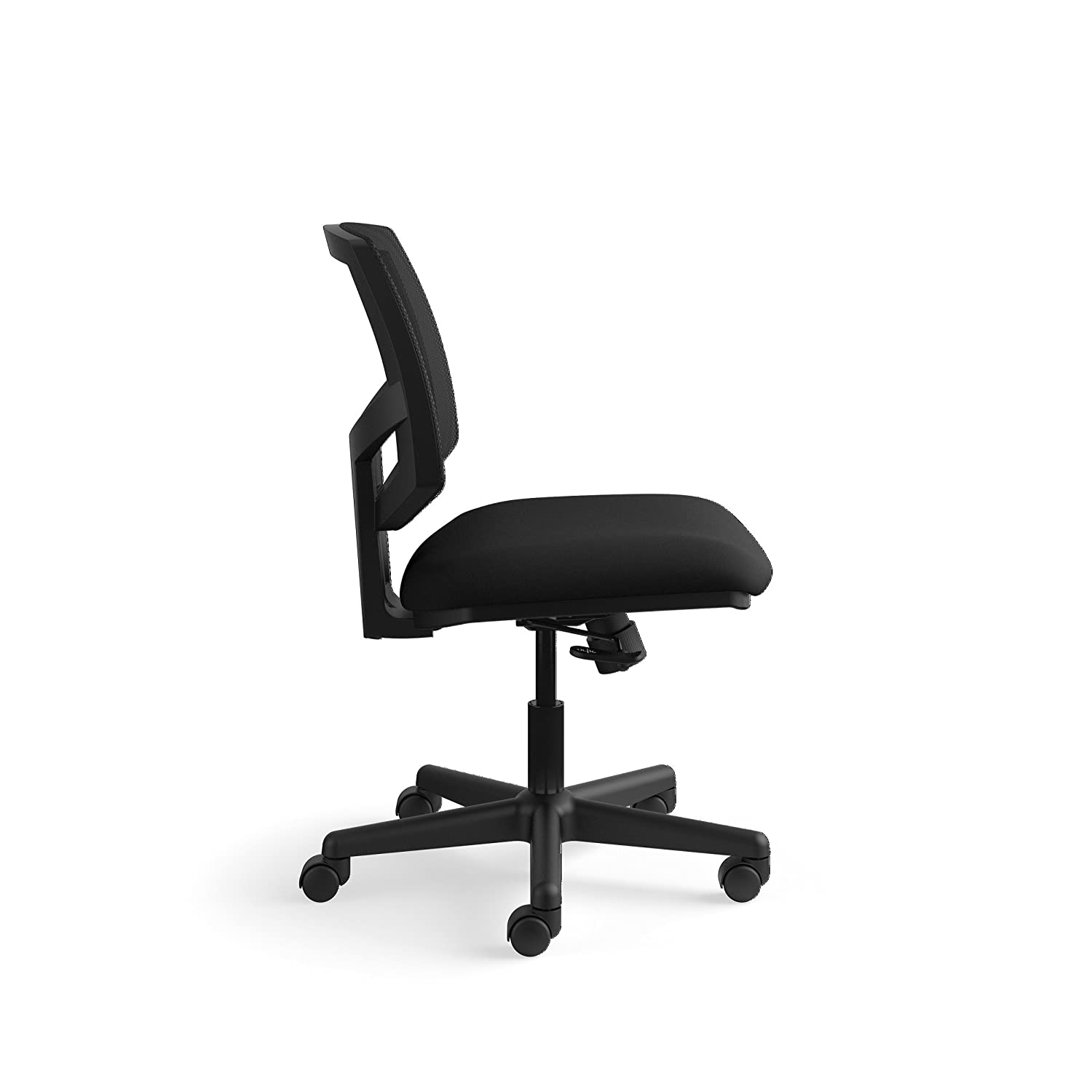 Black H5711.SB11.T H5711 The HON Company SB11.T HON Volt Task Mesh Back//Leather Seat Computer Chair for Office Desk