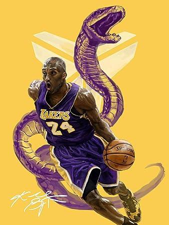 NBA Basketball Great Fan Art Poster