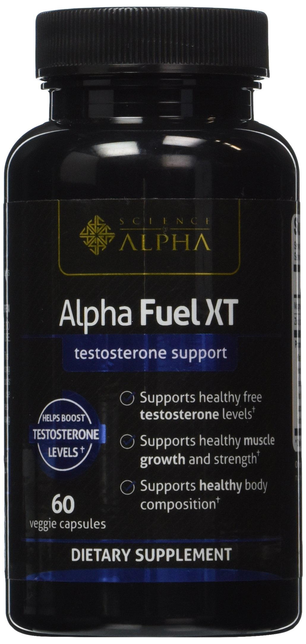 ALPHA FUEL XT TESTOSTERONE SUPPORT 60 CAPSULE NEW