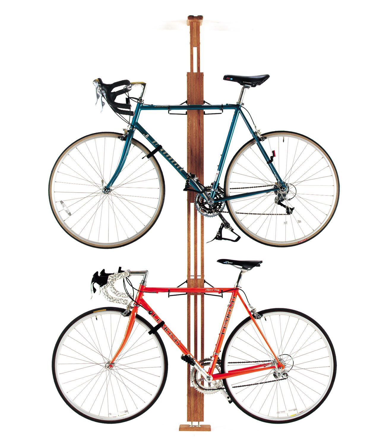 pin bike storage ceiling mounted series floor to platinum rack