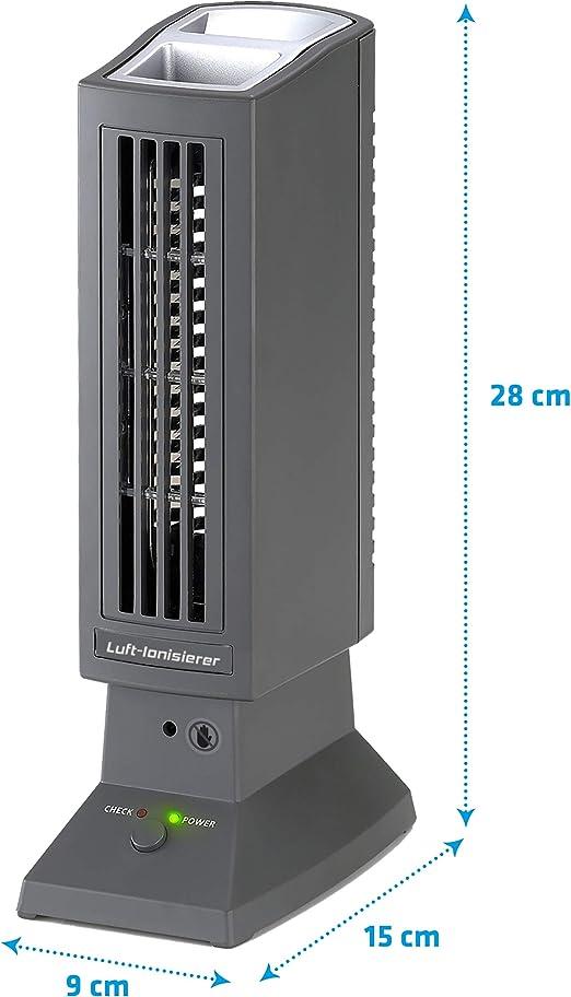 Tevigo 90690 - Purificador de aire, ionizador, ionizador de aire ...