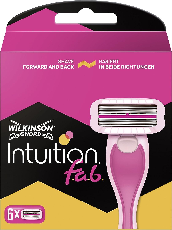 Wilkinson Sword Intuition Fab - Cuchillas de afeitar para mujer ...
