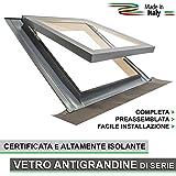 Lucernario per tetto finestra mansarda skylight legno for Finestre x tetti