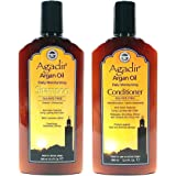 "Agadir Argan Oil Daily Shampoo + Conditioner ""Combo Set"" 12.4oz/366ml"