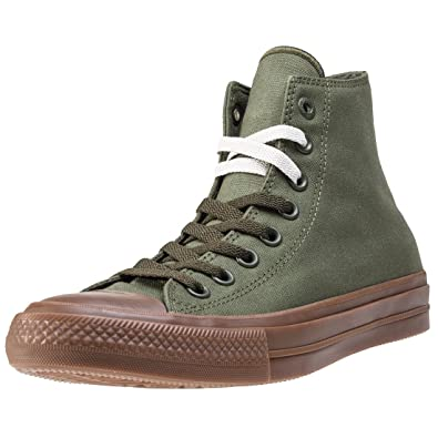 b8ee4724891 Converse Chuck Taylor All Star Ii Hi Mens Trainers Green - 6 UK   Amazon.co.uk  Shoes   Bags