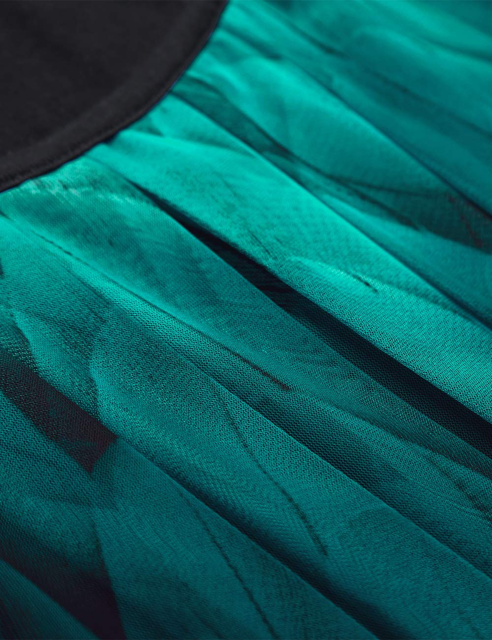BAISHENGGT dam veck kort ärm tunika batwing rund krage blus Pfau Blau