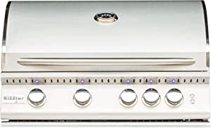 Summerset Sizzler Pro 32-inch 4-burner Built-in Natural Or Propane Gas Grill with Rear Infrared Burner SIZPRO32-NG Or SIZPRO32-LP