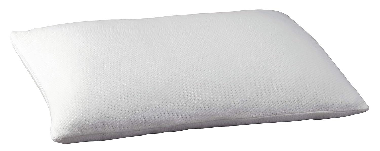 Signature Design by Ashley M82510P Promotional Memory Foam Pillow, White