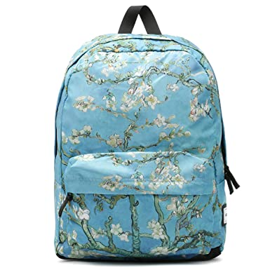8db375ad6d64 Vans Van Gogh Almond Blossoms Blue Backpack: Amazon.co.uk: Shoes & Bags