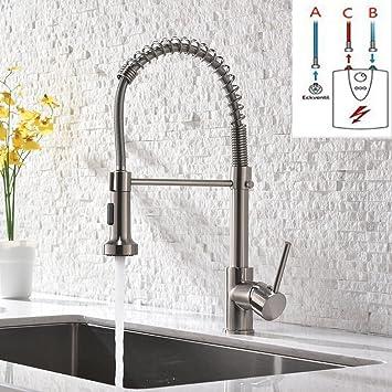 GD Niederdruck Wasserhahn Küche Edelstahl Mischbatterien Kueche ...
