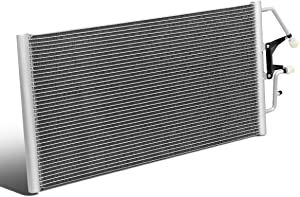 4721 Aluminum A/C Condenser Replacement for Chevy GMC C/K 1500 2500 3500 Suburban 4.3L 5.0L 5.7L 6.5L 96-00