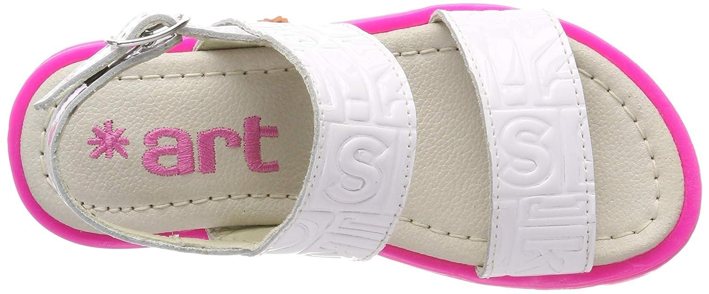Sandales Bride Arriere Fille Art for kids A332c Charol White//Merida