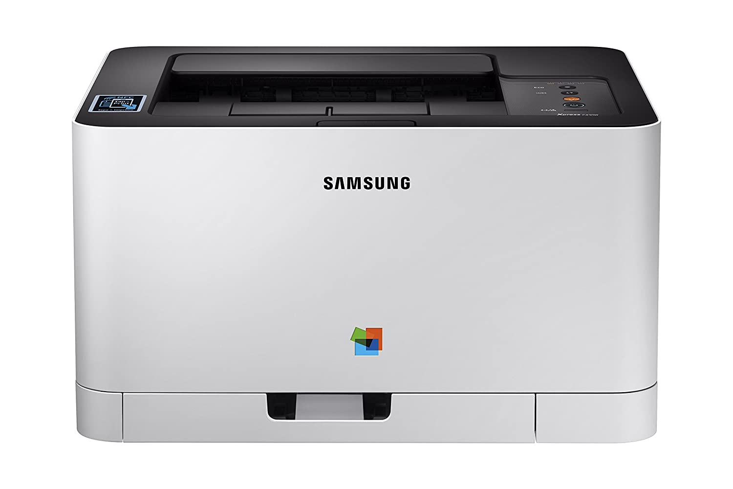 Samsung Xpress C430W Wireless Color Laser Printer with Simple NFC + WiFi Connectivity and Built-in Ethernet,  Dash Replenishment Enabled (SS230G) hp
