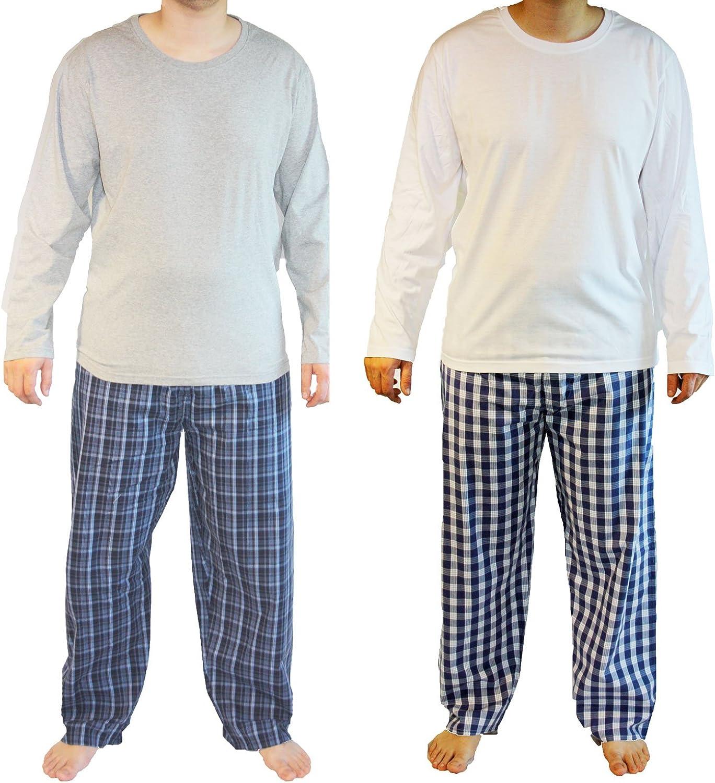 Mens Haigman Nightwear Poplin 100/% Cotton Pyjamas