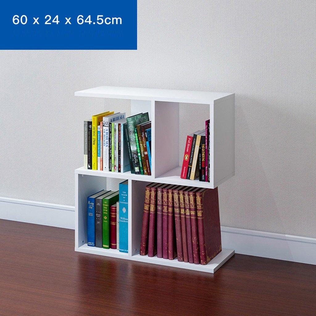 Desktop Racks Bookcases Desk Storage Rack 2 Layers ( Color : Beige )