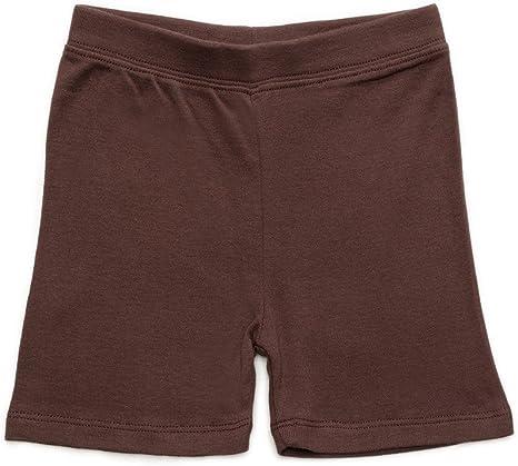 Leveret Girls Brown Shorts Bike Pants 94/% Cotton 6/% Spandex 2 Toddler 14 YRS
