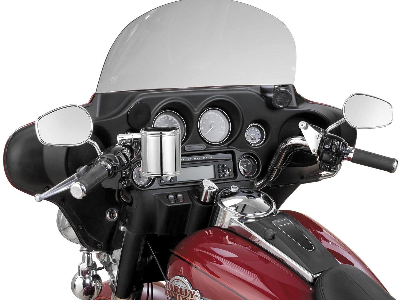 Motorcycle Cup Holder Kruzer Kaddy Chrome Handlebar Mountable Cup Holder