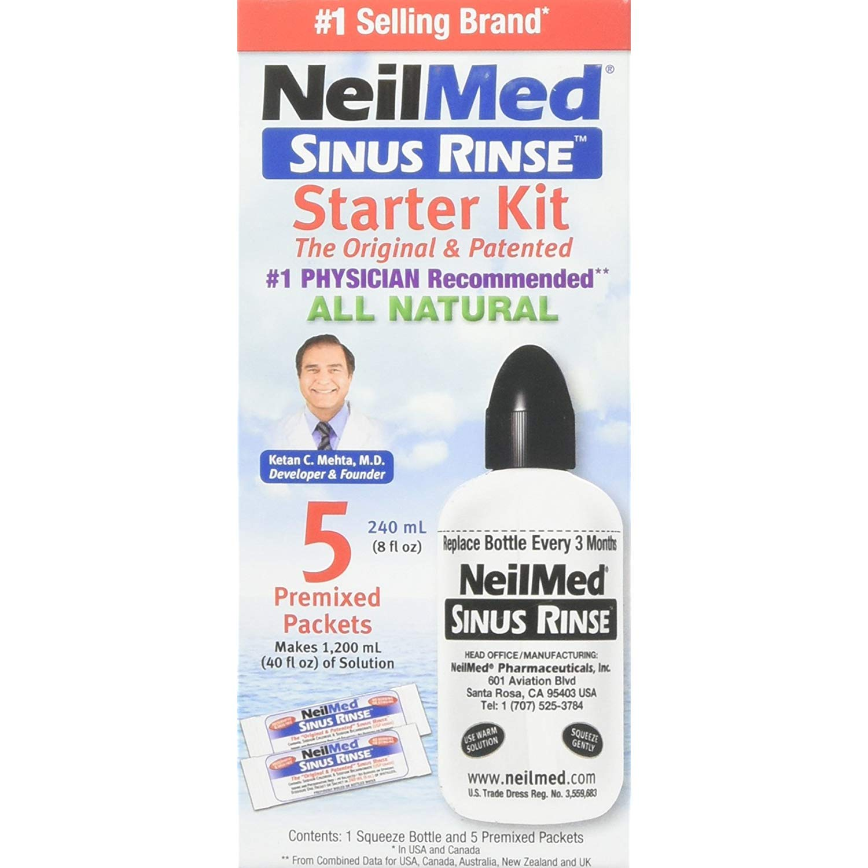 NeilMed Sinus Rinse Starter Kit 1 Each (Pack of 6) by NeilMed
