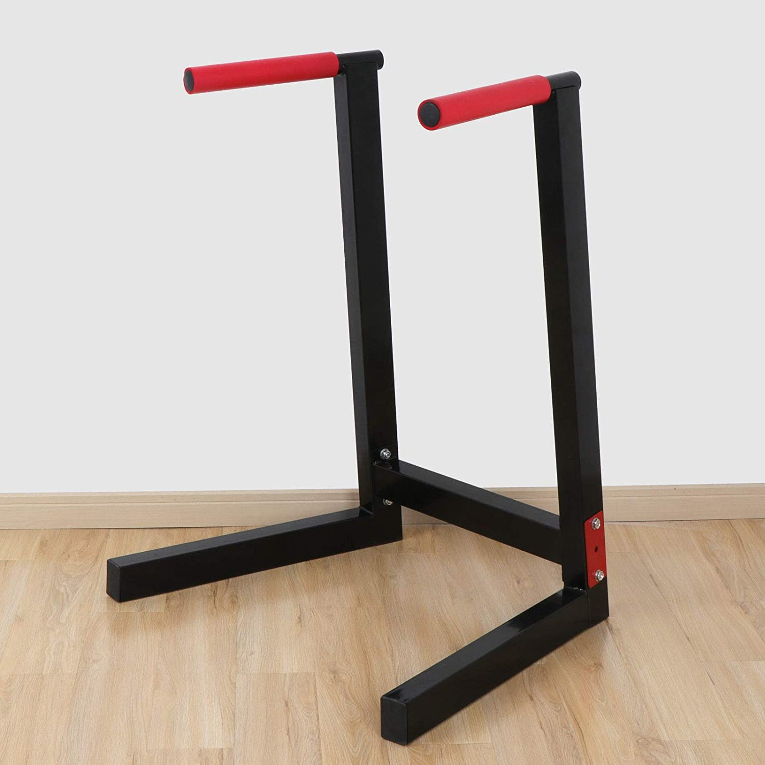 ZENY Heavy Duty Dip Station Dipping Stand Full Pull Up Parallel Bar Bicep Triceps Home Gym Exercise Workout Dip Bar w Non-Slip Grips 440lbs Capacity