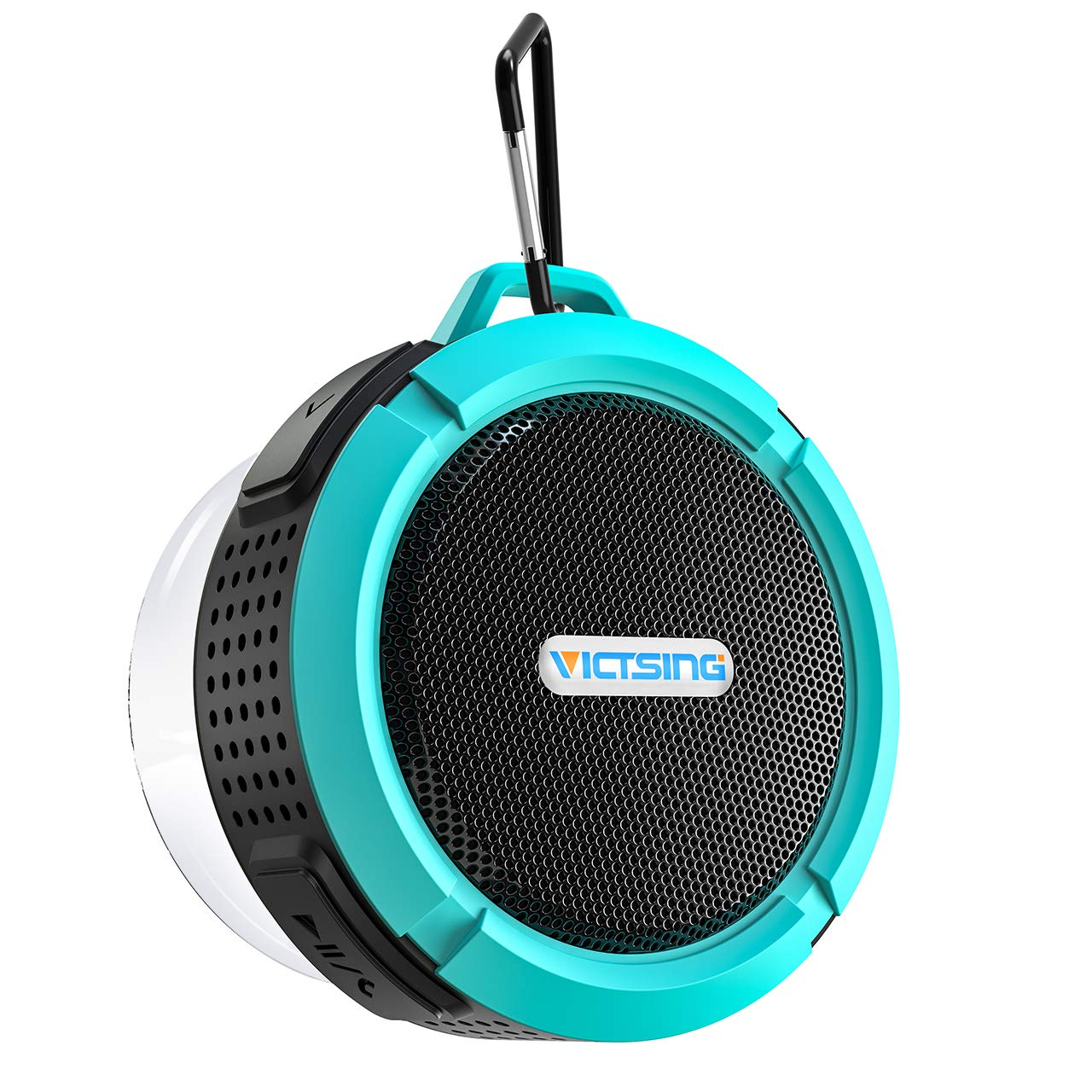 VicTsing SoundHot C6 Portable Bluetooth Speaker, Waterproof Bluetooth Speaker with 6H Playtime, Loud HD Sound, Shower Speaker with Suction Cup & Sturdy Hook, Compatible with IOS, Android, PC, Pad by VicTsing